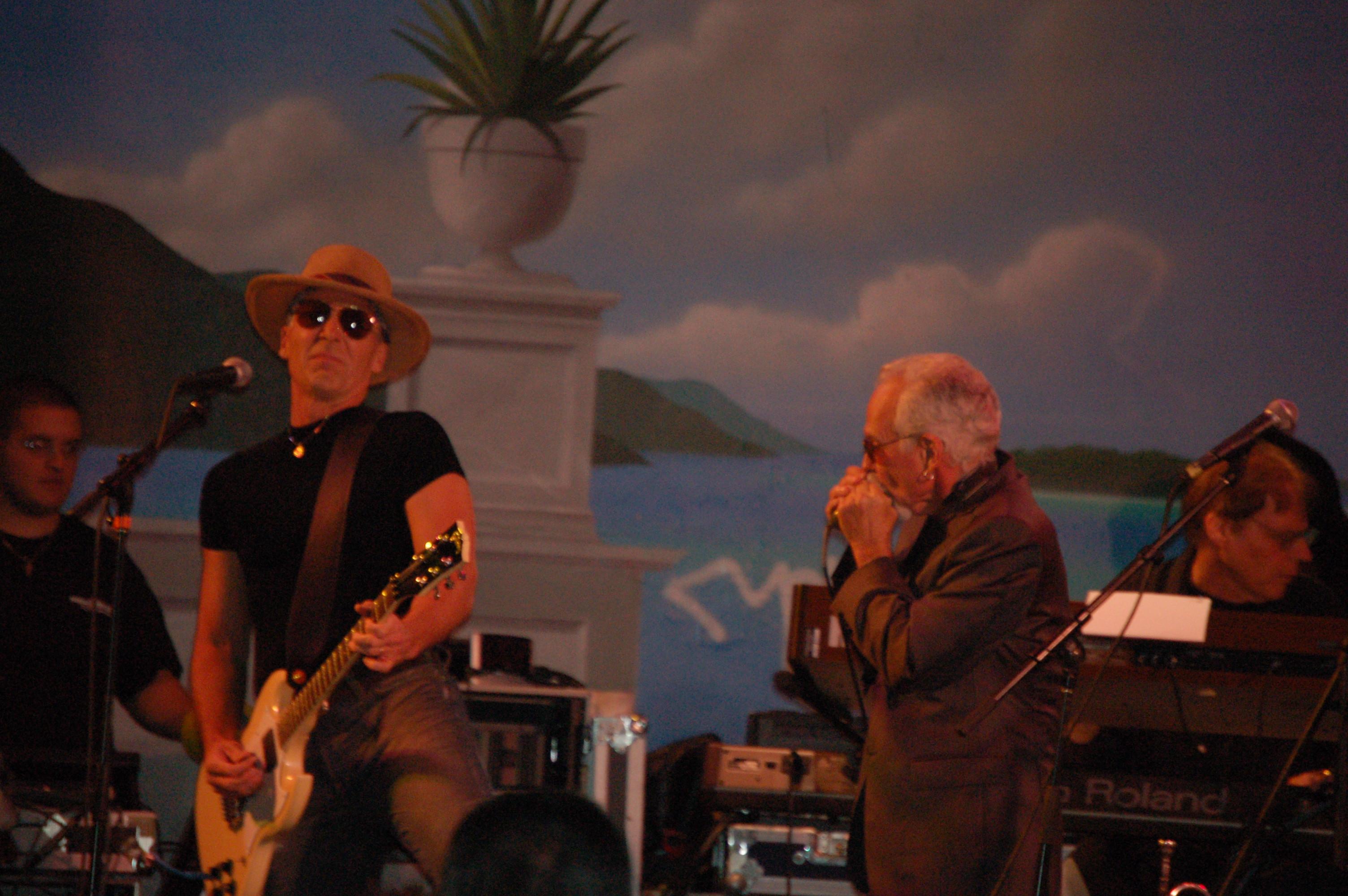 David & Bobby Performing