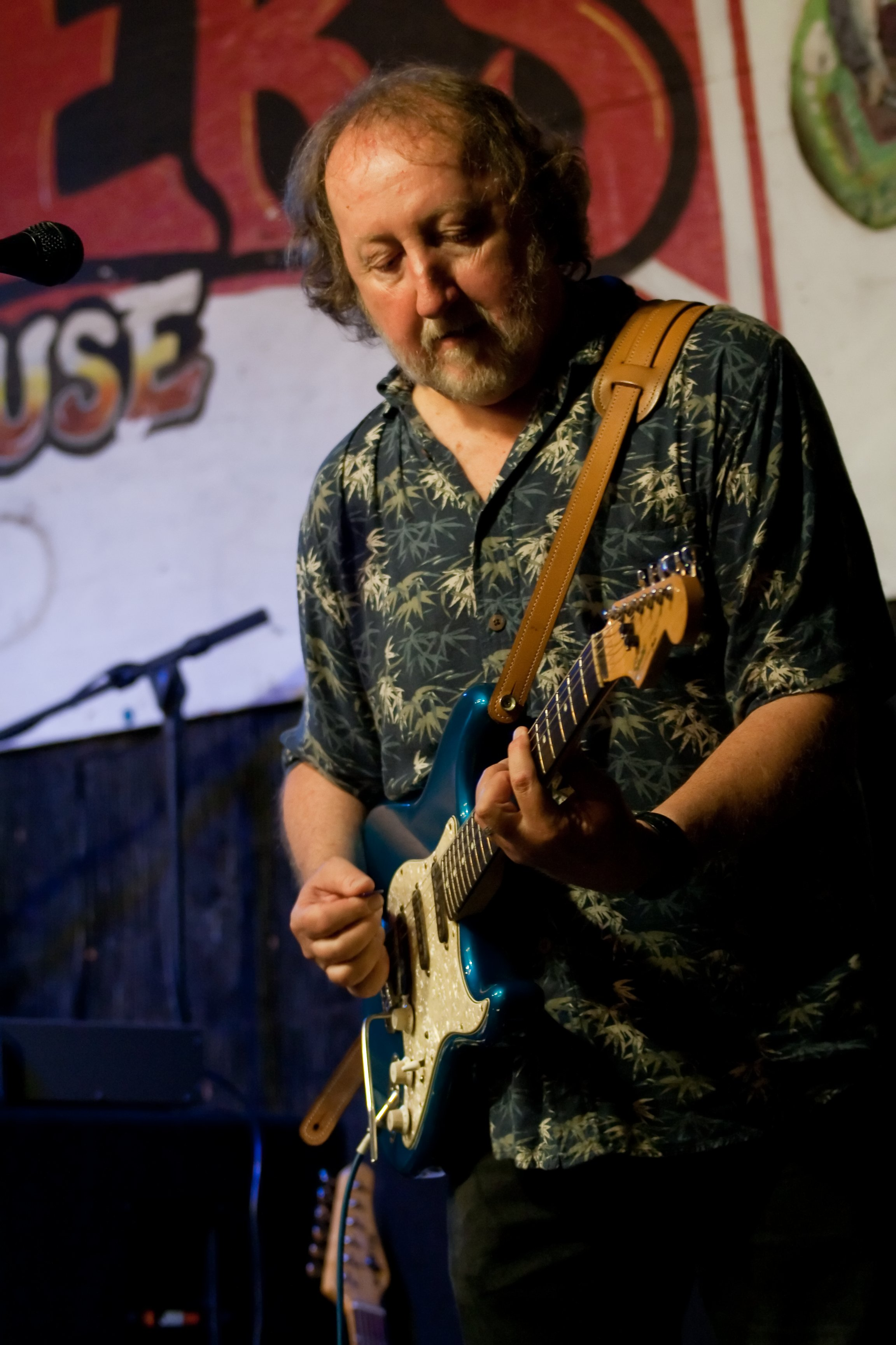 Roger Hughes on Guitar