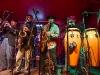 Saavy Blue Dice Horns in Concert