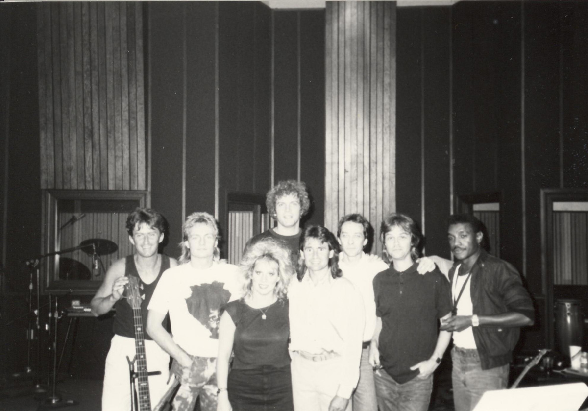 Davey Jones with Band Ardent Records Memphis