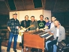 Producer Jim Gaines with Band Ardent Records Memphis