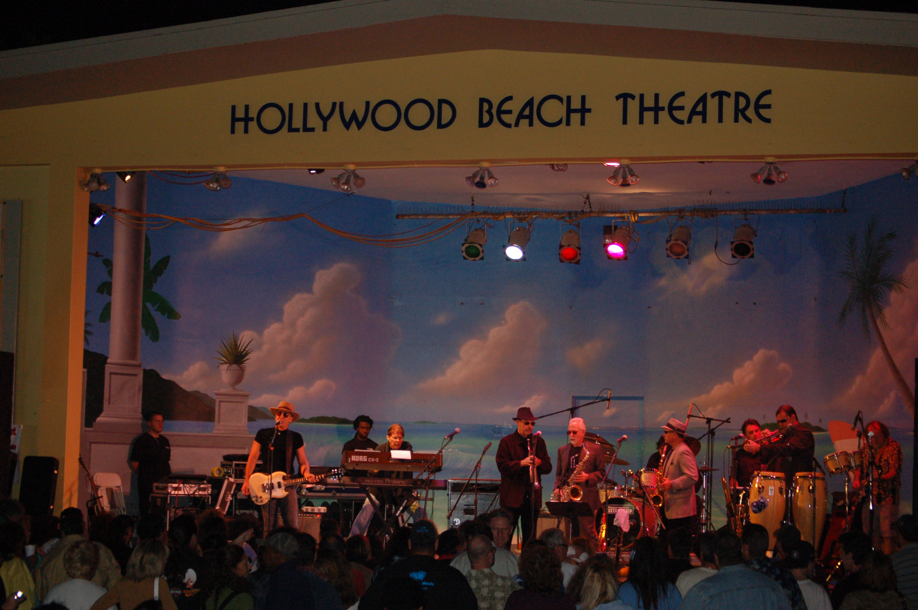Blue Dice Band in Concert at Hollywood Beach Music Festival