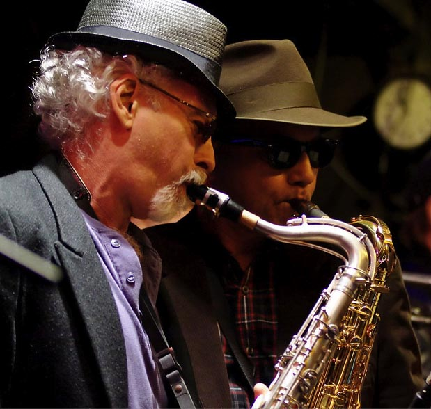 Bobby Rose and Dale Gabbard on Sax