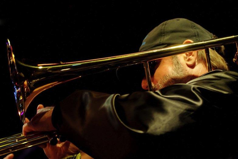 George on Trombone
