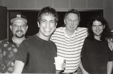 AJ Croche & Producer Jim Gaines Ardent Records Memphis