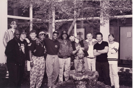Bernard Allison Band with Jim Gaines, Producer Ardent Records Memphis