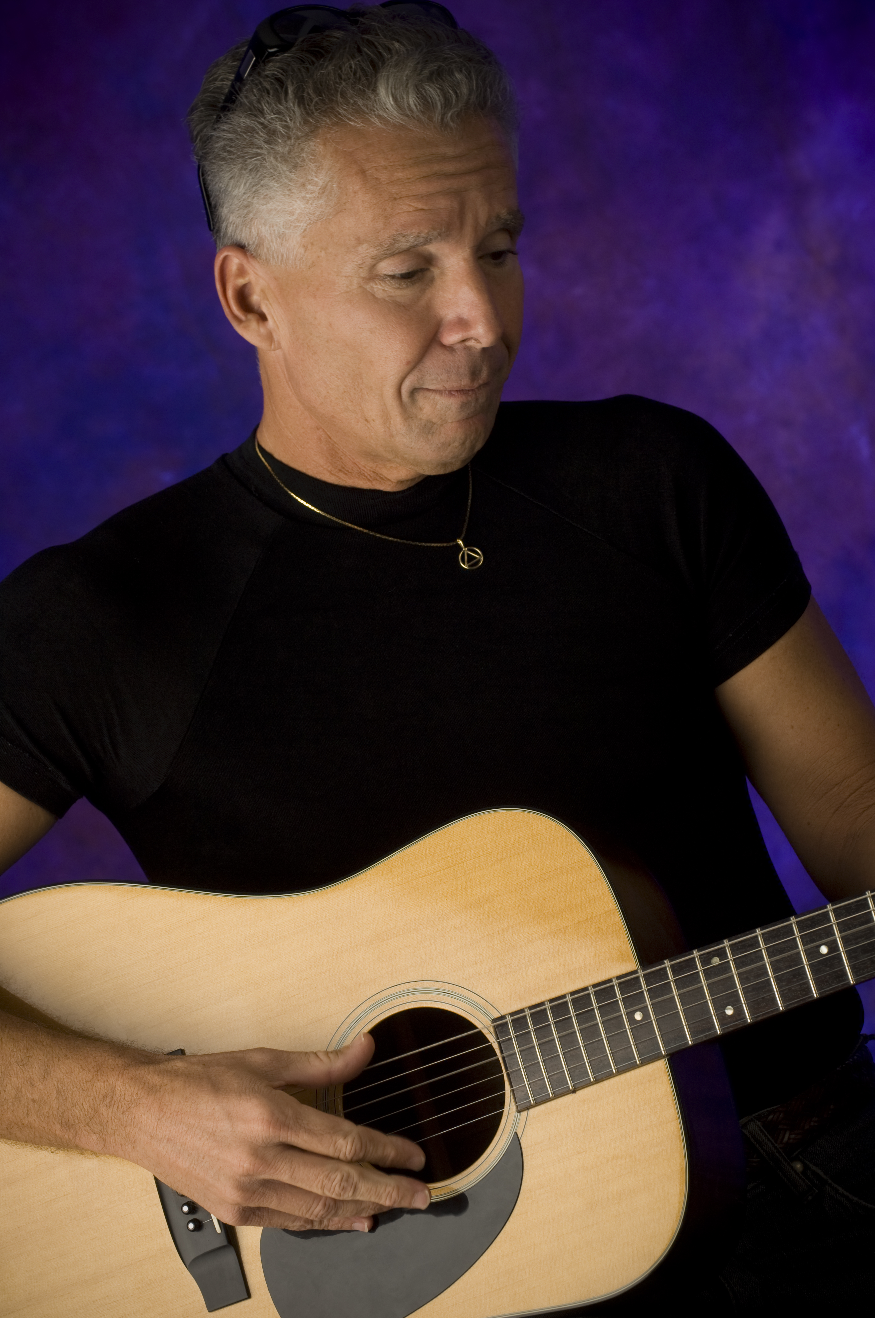 David Bley with Guitar